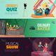 TV Show Kids Horizontal Banners
