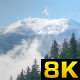 The First Snow of the Season Fell to the Mountains - VideoHive Item for Sale