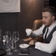 Businessman Is Drinking Black Tea - VideoHive Item for Sale