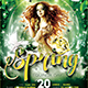 Spring Equinox Flyer Template V2 - GraphicRiver Item for Sale