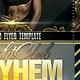 Mayhem Flyer Template - GraphicRiver Item for Sale