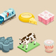 Isometric Dairy Factory Elements Set