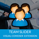 Team Slider | Team Showcase | Team Builder  | Team Member Slider  - WPBakery Page Builder (Visual Co