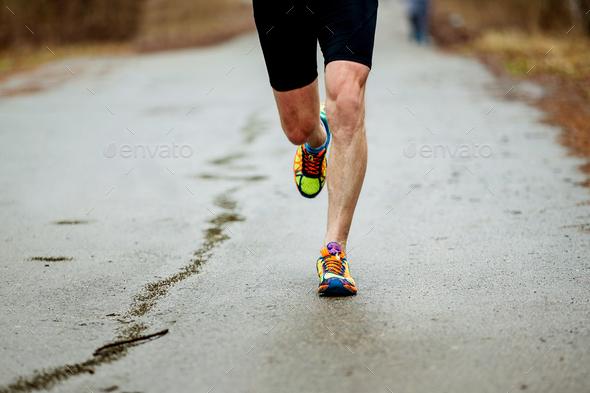 legs runner men - Stock Photo - Images