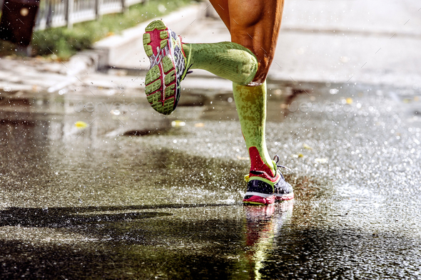 legs runner athlete - Stock Photo - Images