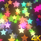 Colorful Valentine Stars 4k - VideoHive Item for Sale