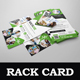 Healthcare Rack card DL Flyer Design Template - GraphicRiver Item for Sale