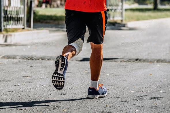 legs runner athlete - Stock Photo - Images