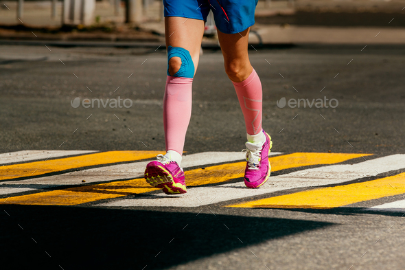 legs woman runner - Stock Photo - Images