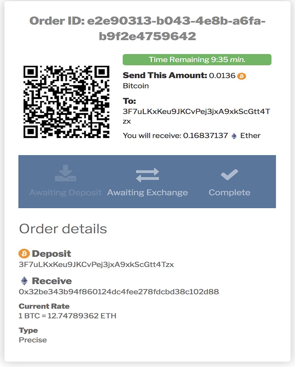 Cryptocurrency Exchange Shapeshift Wordpress Plugin By