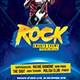 Rock Concert v2 Flyer - GraphicRiver Item for Sale