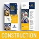 DL Construction Rack Card Template - GraphicRiver Item for Sale