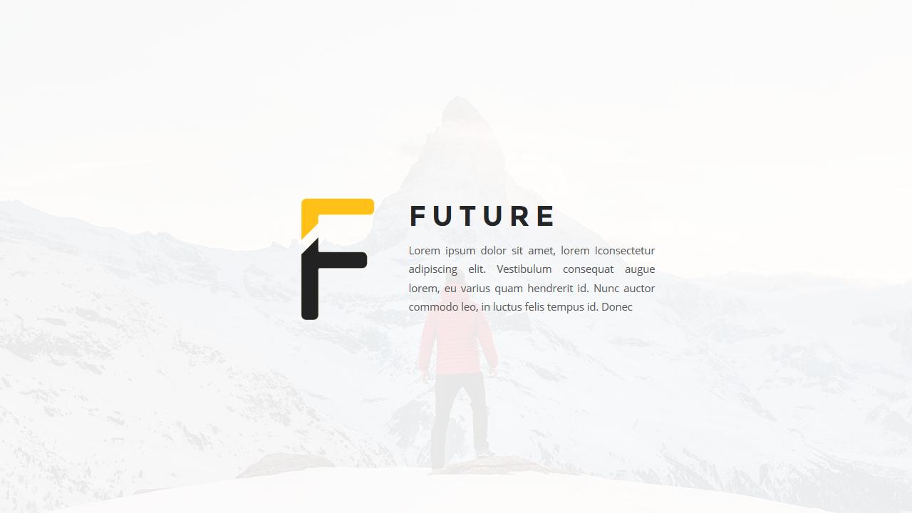Future - Multipurpose Google Slides Template
