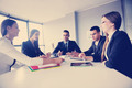 business people group in a meeting at office - PhotoDune Item for Sale