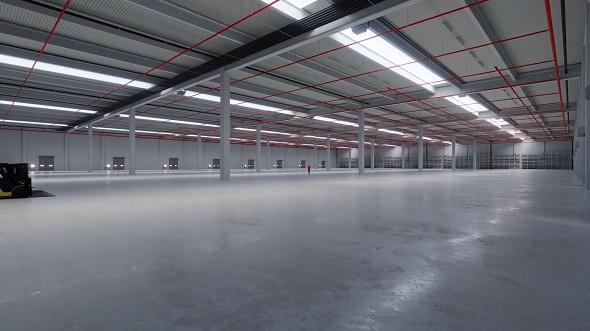 Industrial Building Interior 6 - 3DOcean Item for Sale