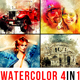 Watercolor Artist - 4in1 Photoshop Actions Bundle - GraphicRiver Item for Sale