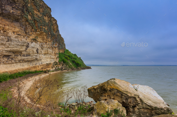 Dolosman Cape, Tulcea county, Romania. - Stock Photo - Images