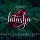 Latasha Font Family - 6 Font - GraphicRiver Item for Sale