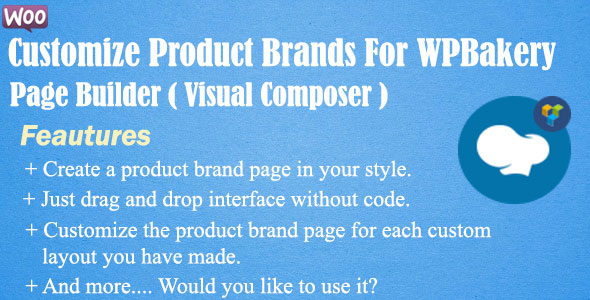 Customize Product Brands For WPBakery Page Builder(Visual Composer) - CodeCanyon Item for Sale