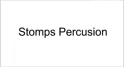 Stomp Percusion