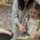 Young Woman Teaches Her Daughter To Cut Cabbage for Salad - VideoHive Item for Sale