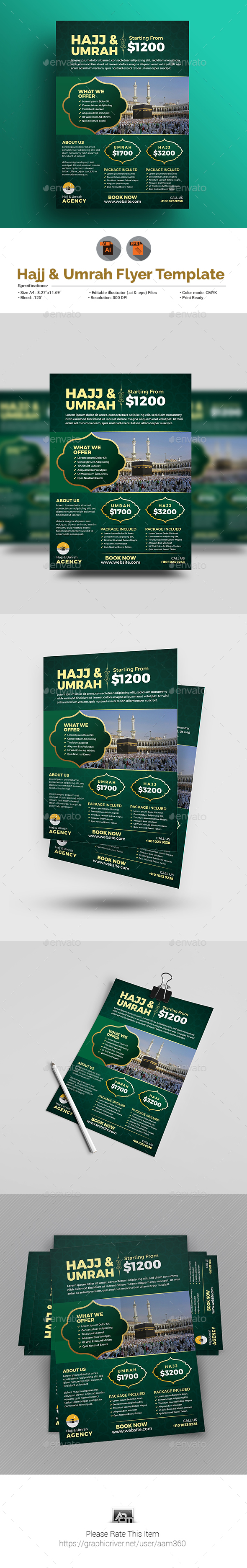 Hajj Flyer - Events Flyers