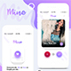 Mine - Mobile App UI Kit Design - GraphicRiver Item for Sale