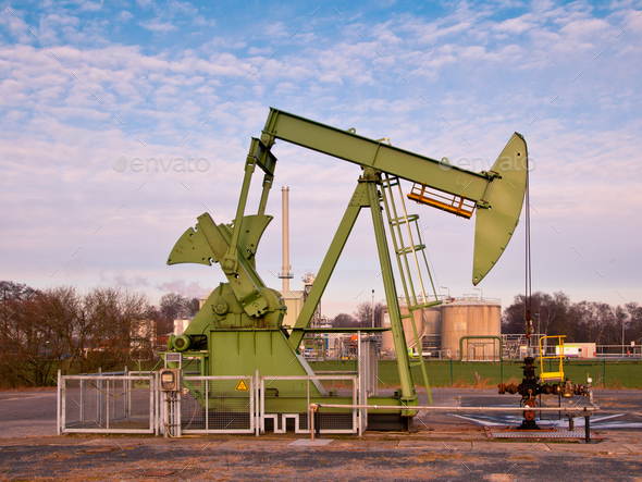 Oil Pump Jack - Stock Photo - Images