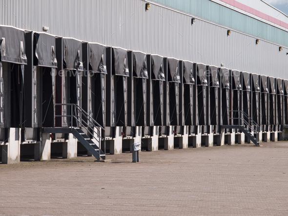 Freight Docks Export Door Concept - Stock Photo - Images