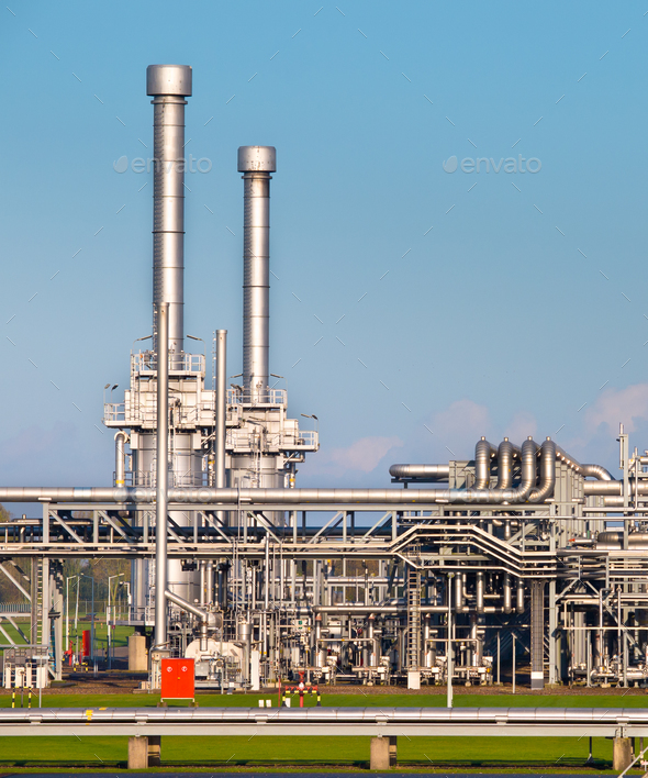 Natural Gas Processing Plant - Stock Photo - Images
