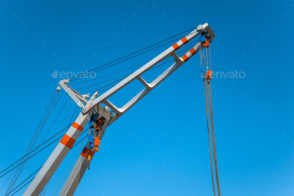 Aluminum Lifting Crane - Stock Photo - Images