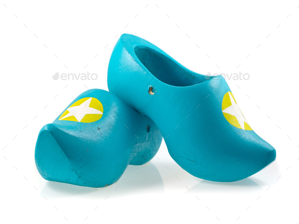 Contemporary Traditional Wooden Shoes - Stock Photo - Images