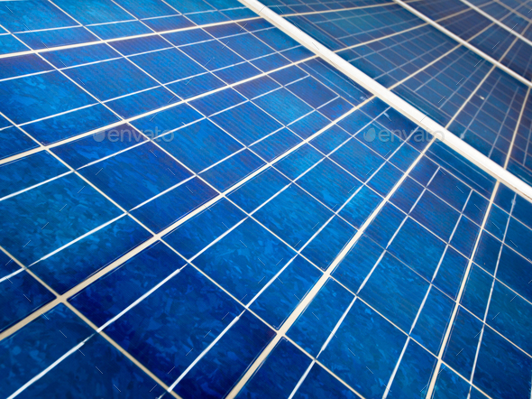 Solar cell close up - Stock Photo - Images