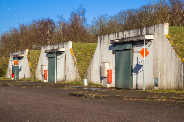 Ammunition Bunker - Stock Photo - Images