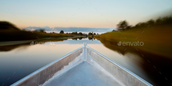 Row your Boat - Stock Photo - Images