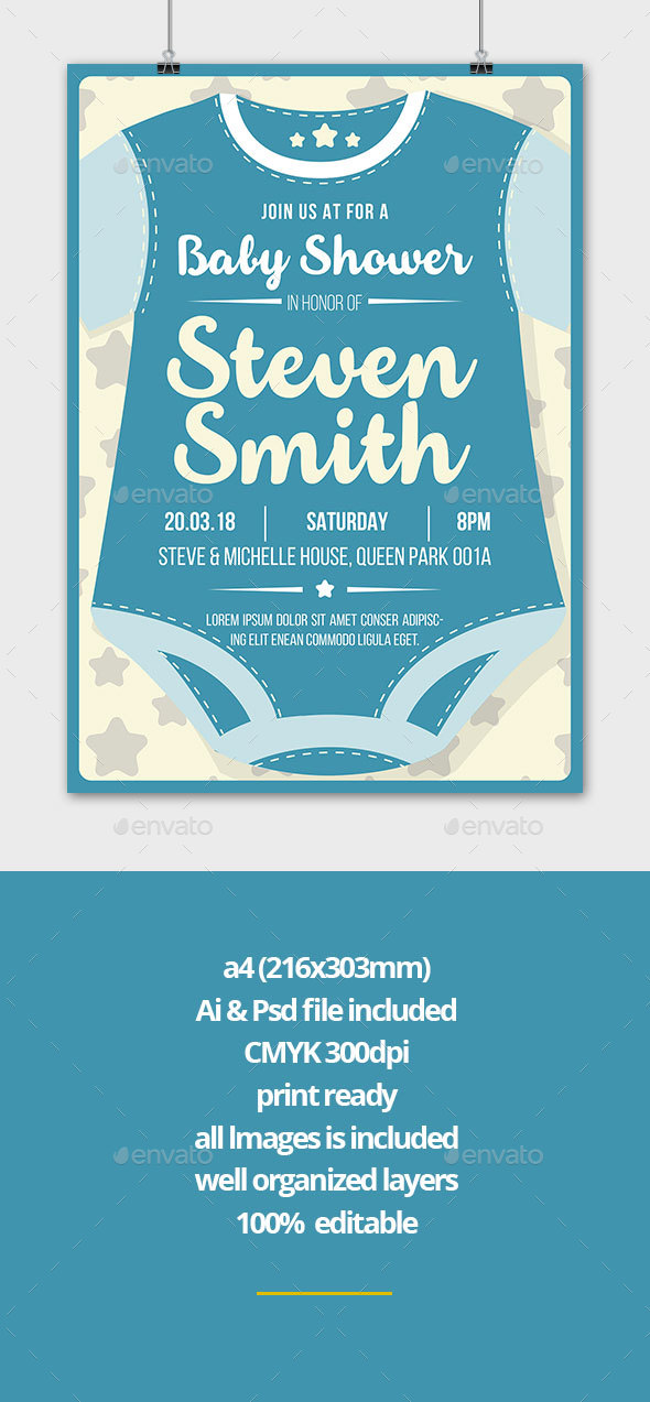 Baby Shower - Invitations Cards & Invites