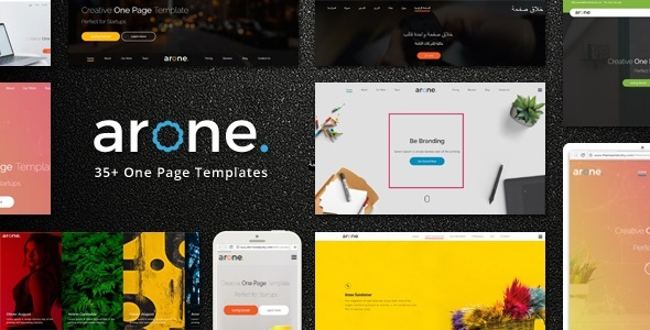 Image of Arone - One Page Parallax Joomla Template