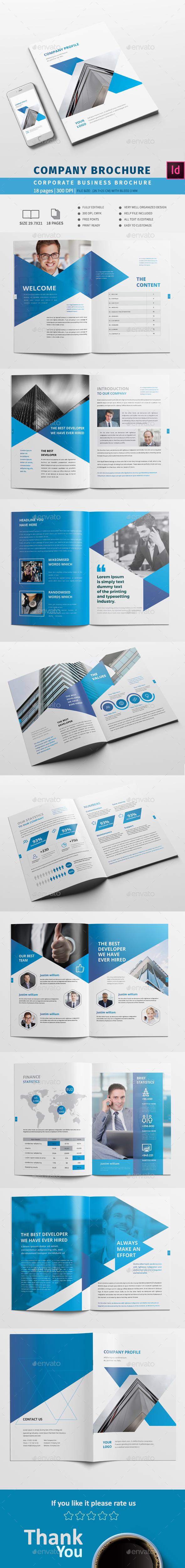 Creative Company Brochure - Corporate Brochures