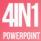 4 in 1 Bundle Powerpoint Template. - GraphicRiver Item for Sale