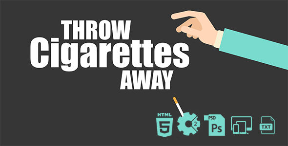 Throw Cigarettes Away HTML5 Game - CodeCanyon Item for Sale