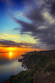 Dramatic clouds at sunset - PhotoDune Item for Sale