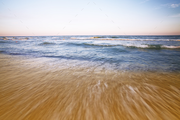 beach and beautiful tropical sea - Stock Photo - Images