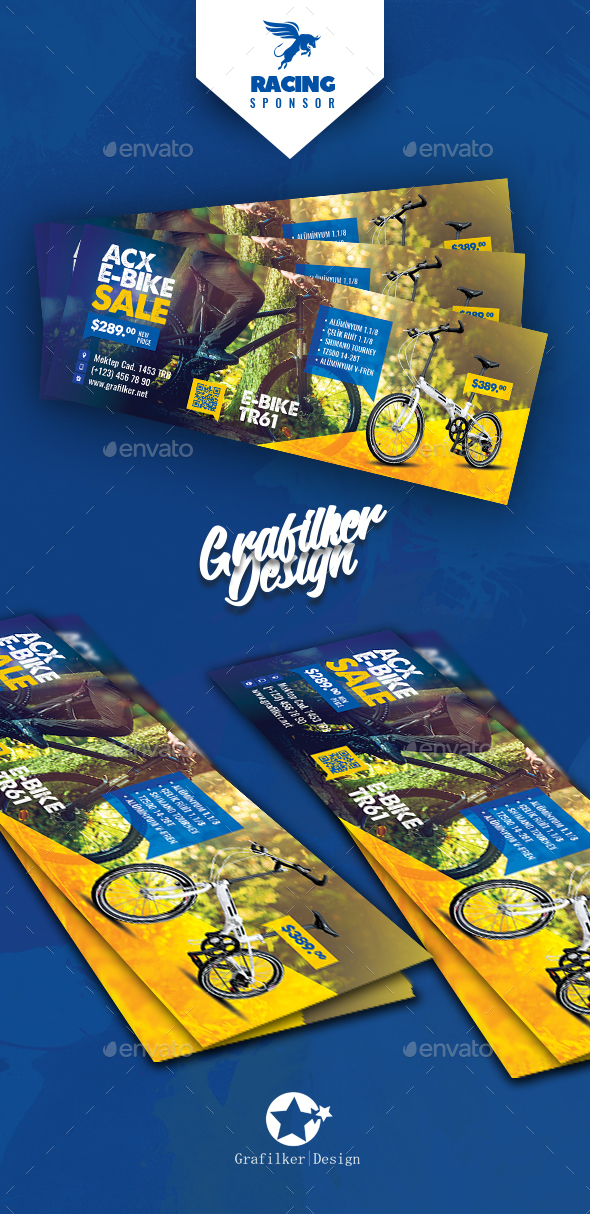 Bicycle Sales F. Cover Templates - Facebook Timeline Covers Social Media
