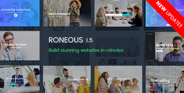 Roneous - Creative Multi-Purpose WordPress Theme - Creative WordPress