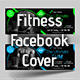 Gym & Fitness Facebook Cover  ( 4 in 1 )
