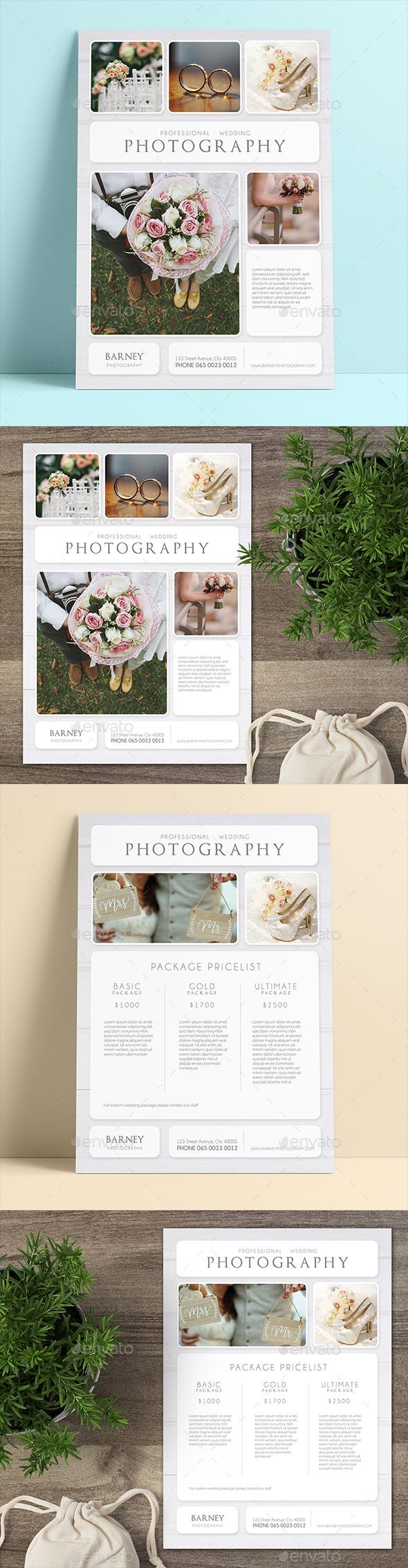 Wedding Photography Flyer - Commerce Flyers
