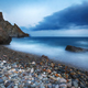 long exposure of sea and rocks - PhotoDune Item for Sale