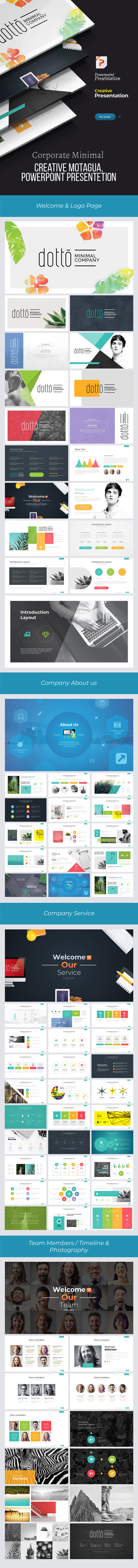 Creative Dotto Powerpoint Template - Creative PowerPoint Templates