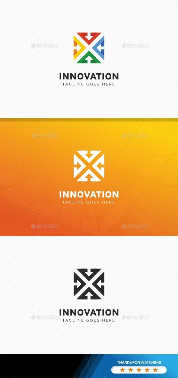 Abstract Arrow Logo - Symbols Logo Templates