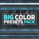 Free Download Big Color Presets Pack Nulled